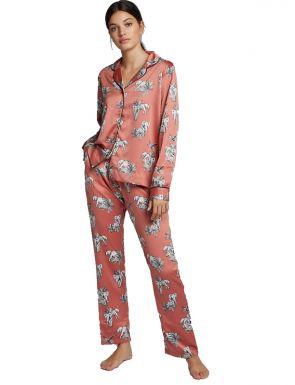 Pijama camisero estampado Gisela