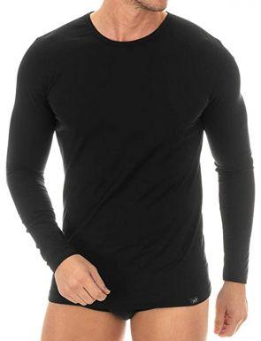 Camiseta manga larga de algodón Egipcio ZD