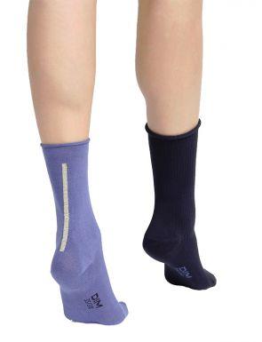 Pack de 2 pares de calcetines de media caña Dim Modal