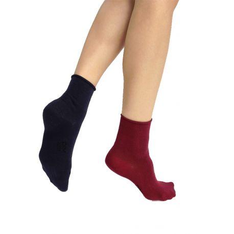 Pack de 2 pares de calcetines bajos Dim Modal