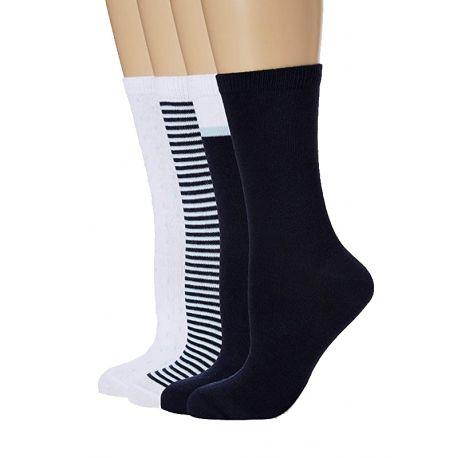 Pack de 4 pares de calcetines para mujer Ecodim