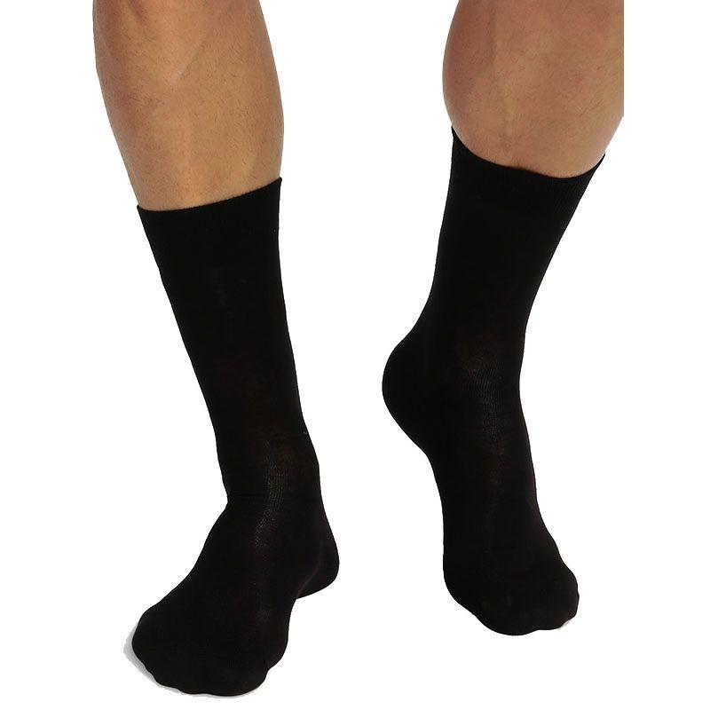 Pack de 2 pares de calcetines altos algodón bio Green