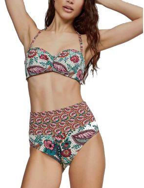 Bikini Bandeau Espalda Regulable