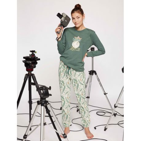 Pijama mujer de algodón Gisela