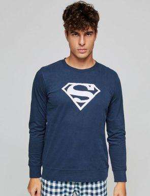 Pijama cuadros Superman