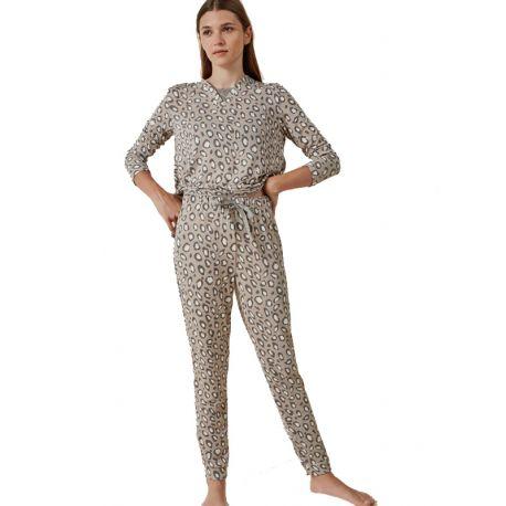 Pijama estampado animal print