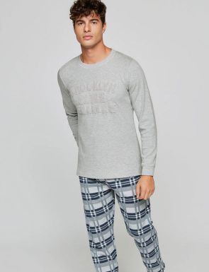 Pijama Brooklyn bordado