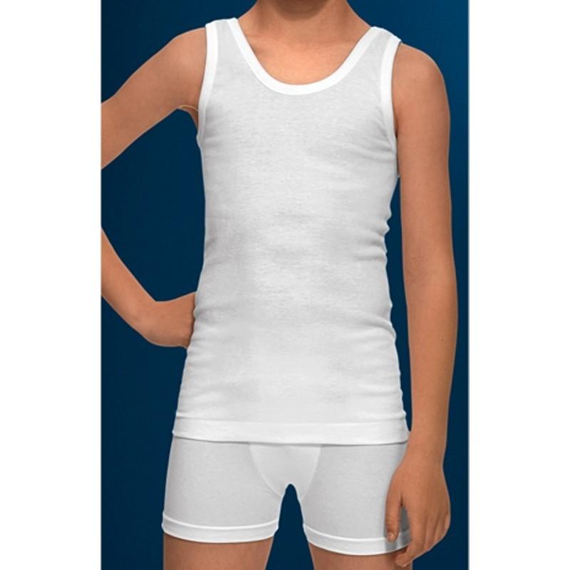 Camiseta abanderado tirantes ni o sport ropa interior j lia for Prendas interiores femeninas