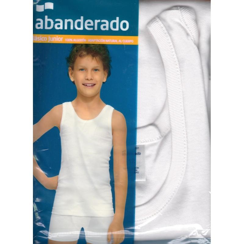 d5077db98 Camiseta Abanderado tirantes niño sport - Ropa Interior Júlia