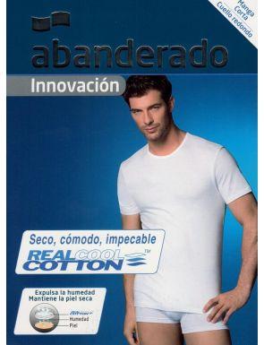 Camiseta M/C algodón Abanderado
