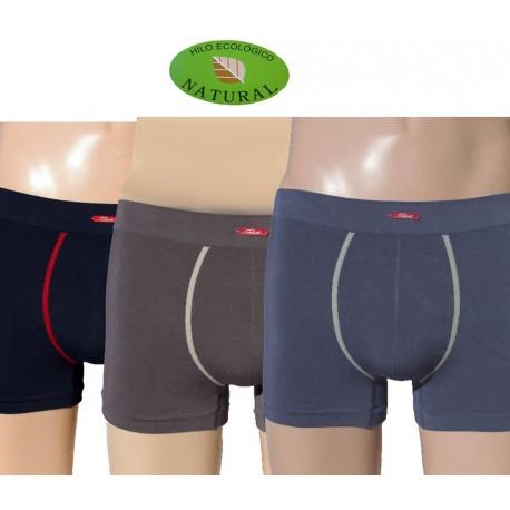 Pack de 3 Boxers sin costuras fibra de modal hombre