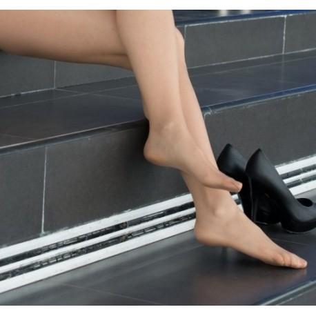 6 pares calcetín tobillero elástico ancho y suave