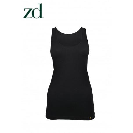 Camiseta tirante ancho Hilo de Soja ZD