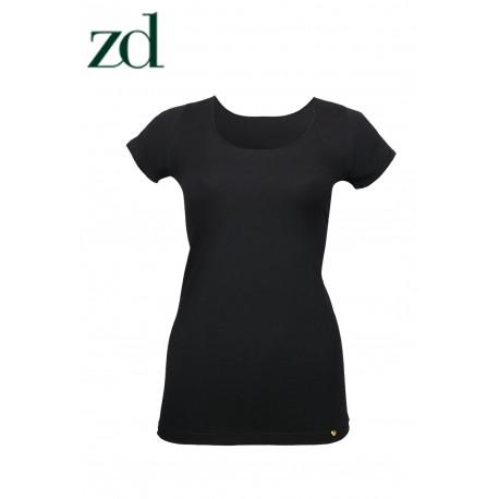 Camiseta manga corta en Hilo de Soja ZD