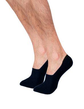 Pack de 2 Calcetines invisibles de algodón hombre